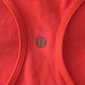 Lululemon Neon Pink Workout Tank